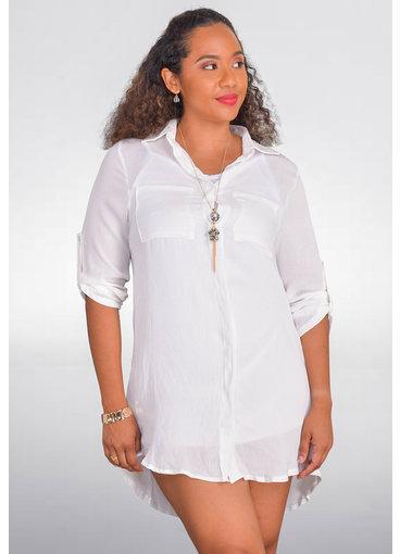 GETS OLLA- Long Sleeve T-shirt Dress