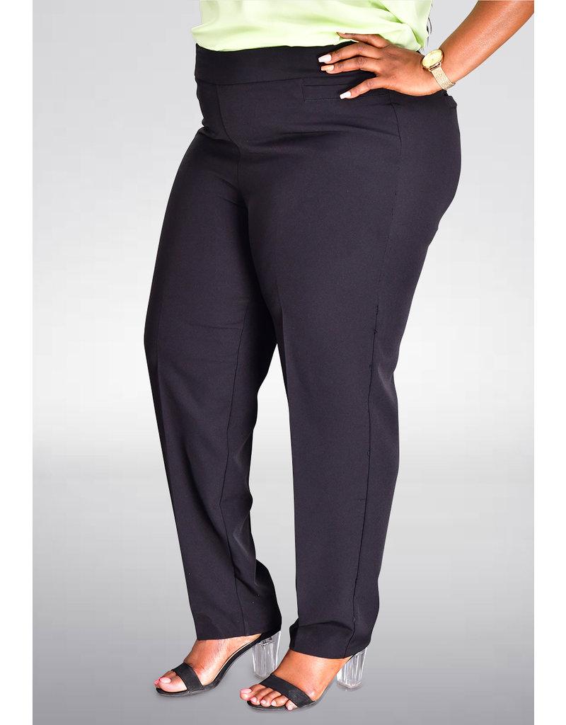 ZAC & RACHEL ZECO- Pull Up Slim Leg Pants with Pockets