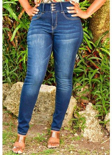Royalty ZELENA- Slim Stretch High Waist Jeans Pants