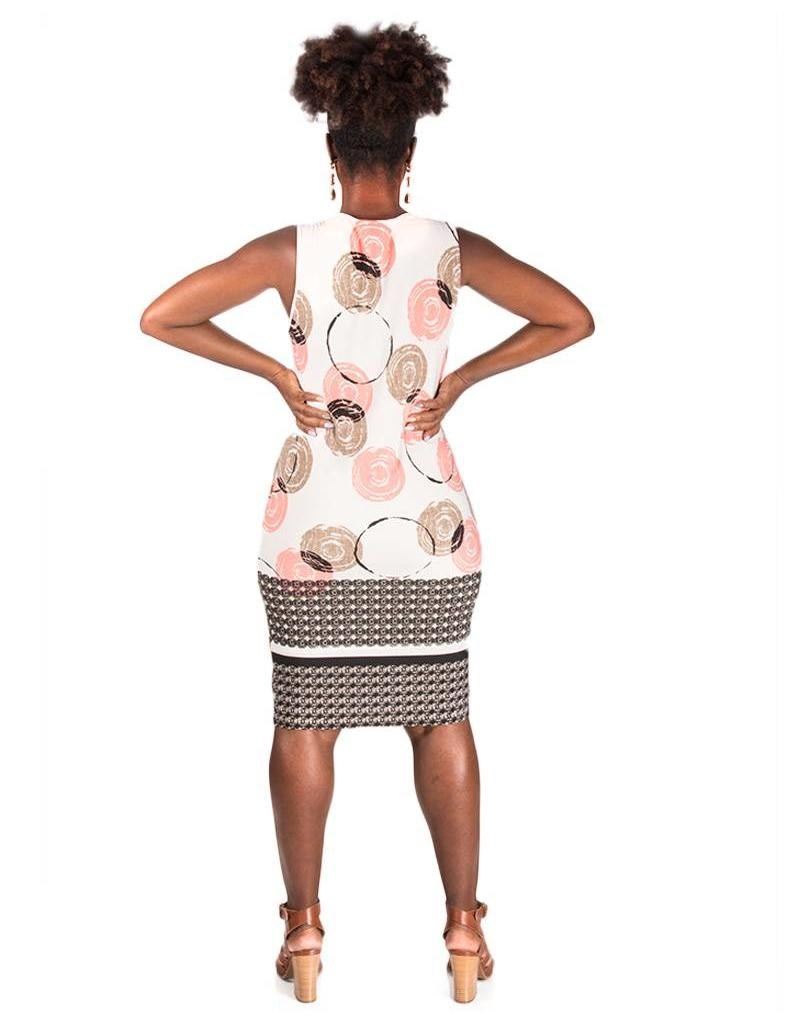 Printed ITY Sheath Dress