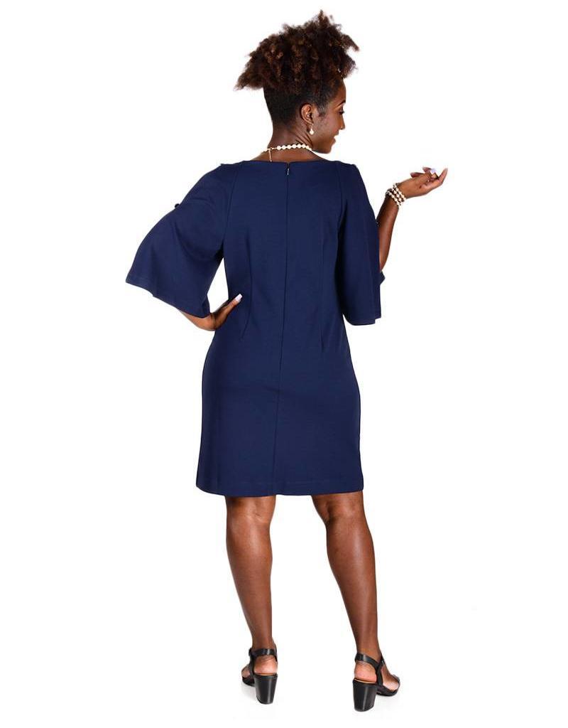 Carol Wren INGRID-Cold Shoulder Dress