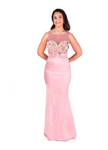 Two Piece Mermaid Bottom Dress