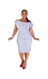 Jessica Howard MARCIE-Off the Shoulder Dress