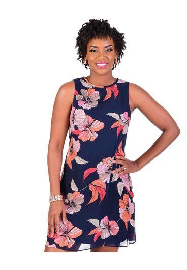 Jessica Howard FELIXA-Floral Print Shift Dress