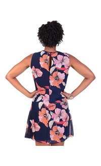 Jessica Howard FELIXA-Floral Print Shift Dress