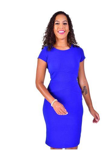 Shelby & Palmer BERNICE-Short Sleeve Dress