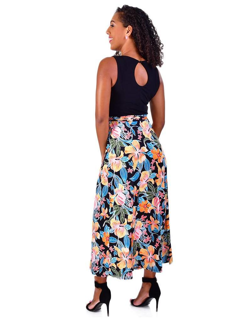 Shelby & Palmer IMA-Colour Block Maxi Dress