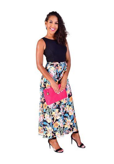 Shelby & Palmer IMA-Colour Block Maxi Dress