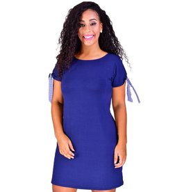 JANE-Printed Shift Dress