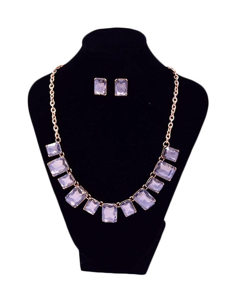 Jewelry-rectangular stones set
