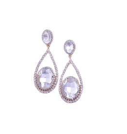 Jewellery-Earrings Oval drops