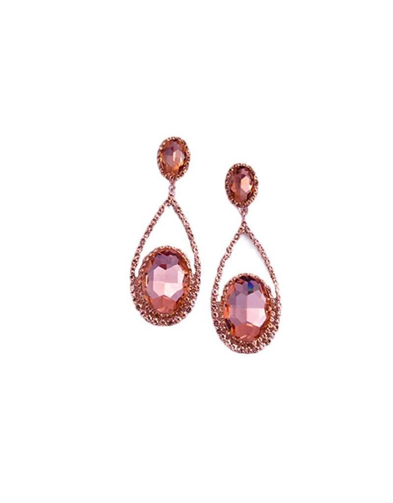 Jewellery-Earrings Oval drops