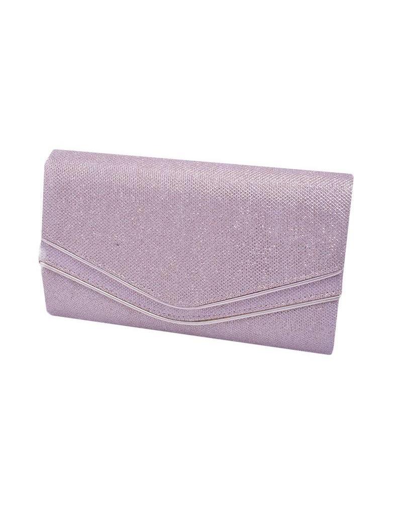 Bag-glitter w/double layer flp