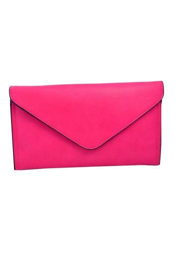 Bag-plain w/V flap