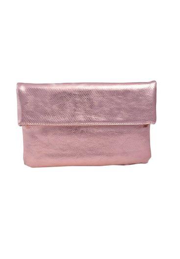 MMS Design Studio Bag- Evening Clutch w/Flap &Chain