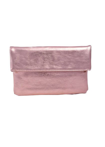 MMS Design Studio Bag- Evening Clutch w/Flap &Chain