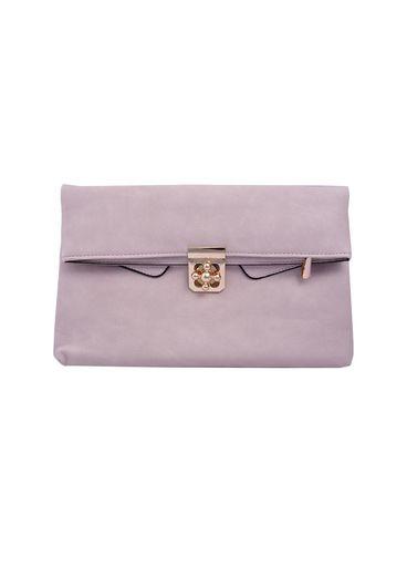 Bag-clutch w/knob