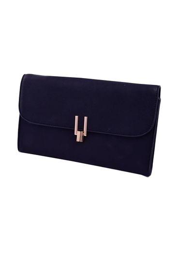 Bag-clutch w/gold clip