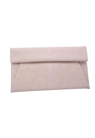 Bag-clutch croc skin