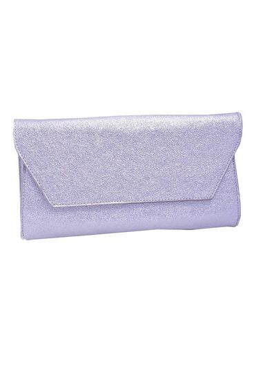 Bag- clutch metallic