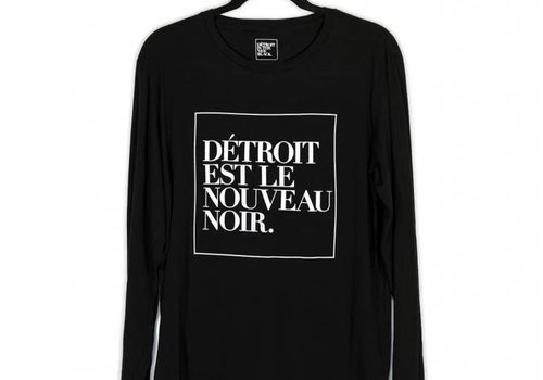 Dét Long Sleeve French Woodward Tee