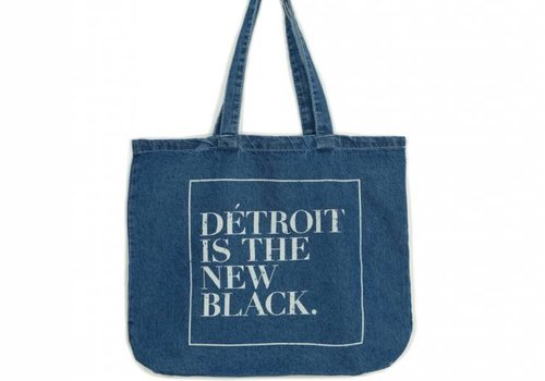 Dét Distressed Woodward Denim Tote