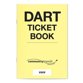 DART Ticket Book ($2.50)
