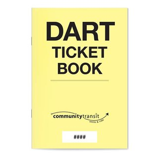 DART Ticket Book ($2.50)