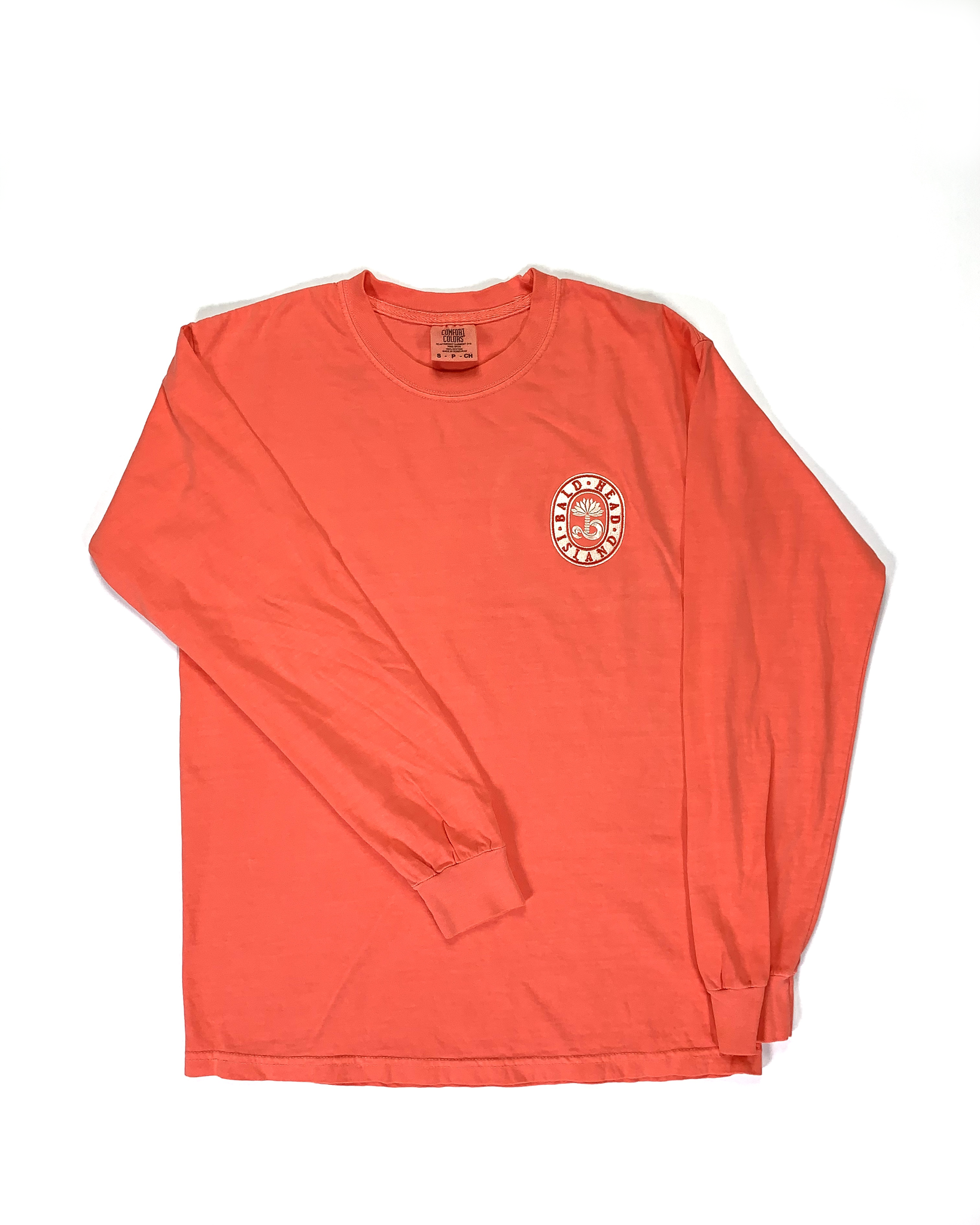Comfort Colors BHI Embroidered L/S Tee