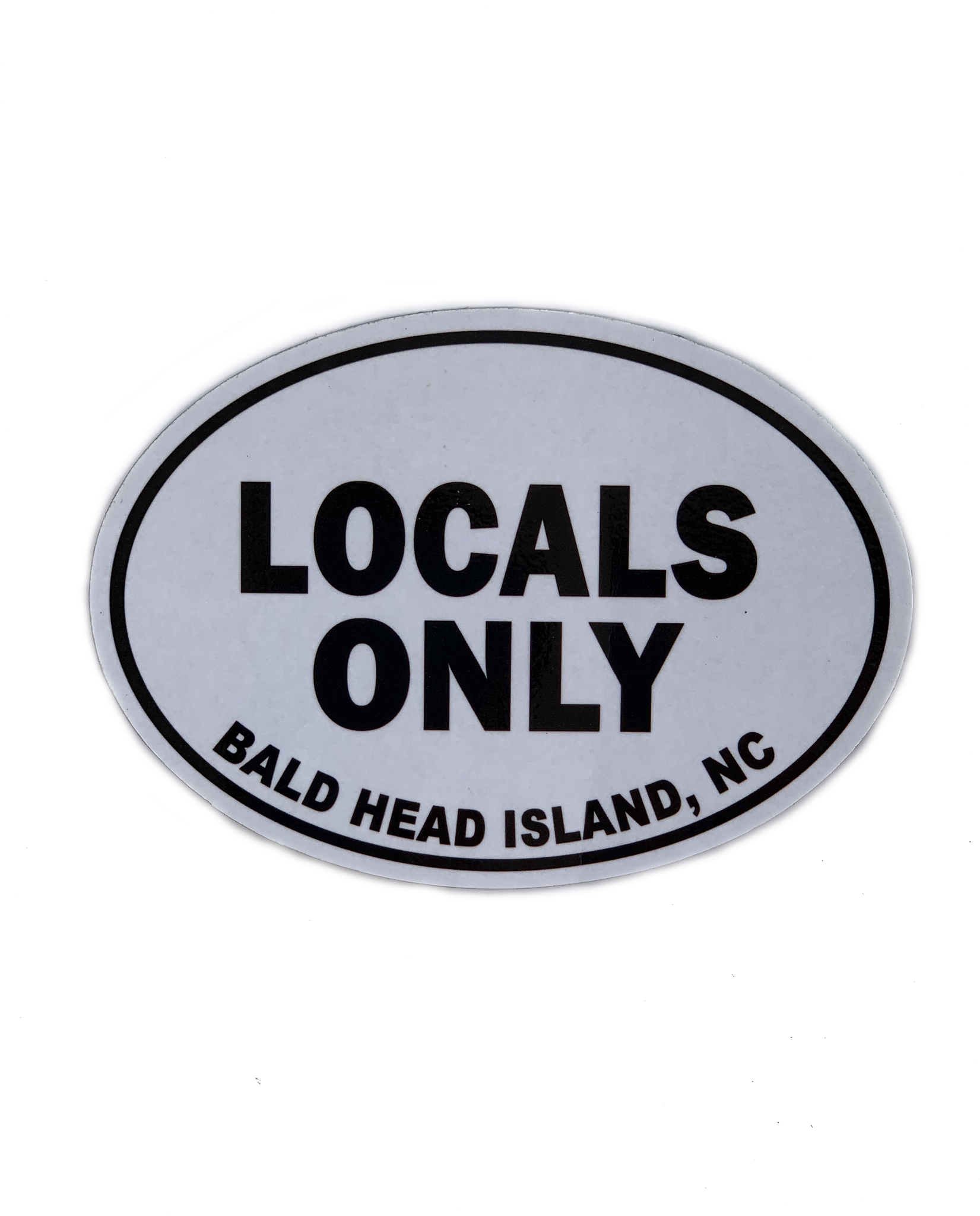 Mania Stickers Locals Only BHI Magnet