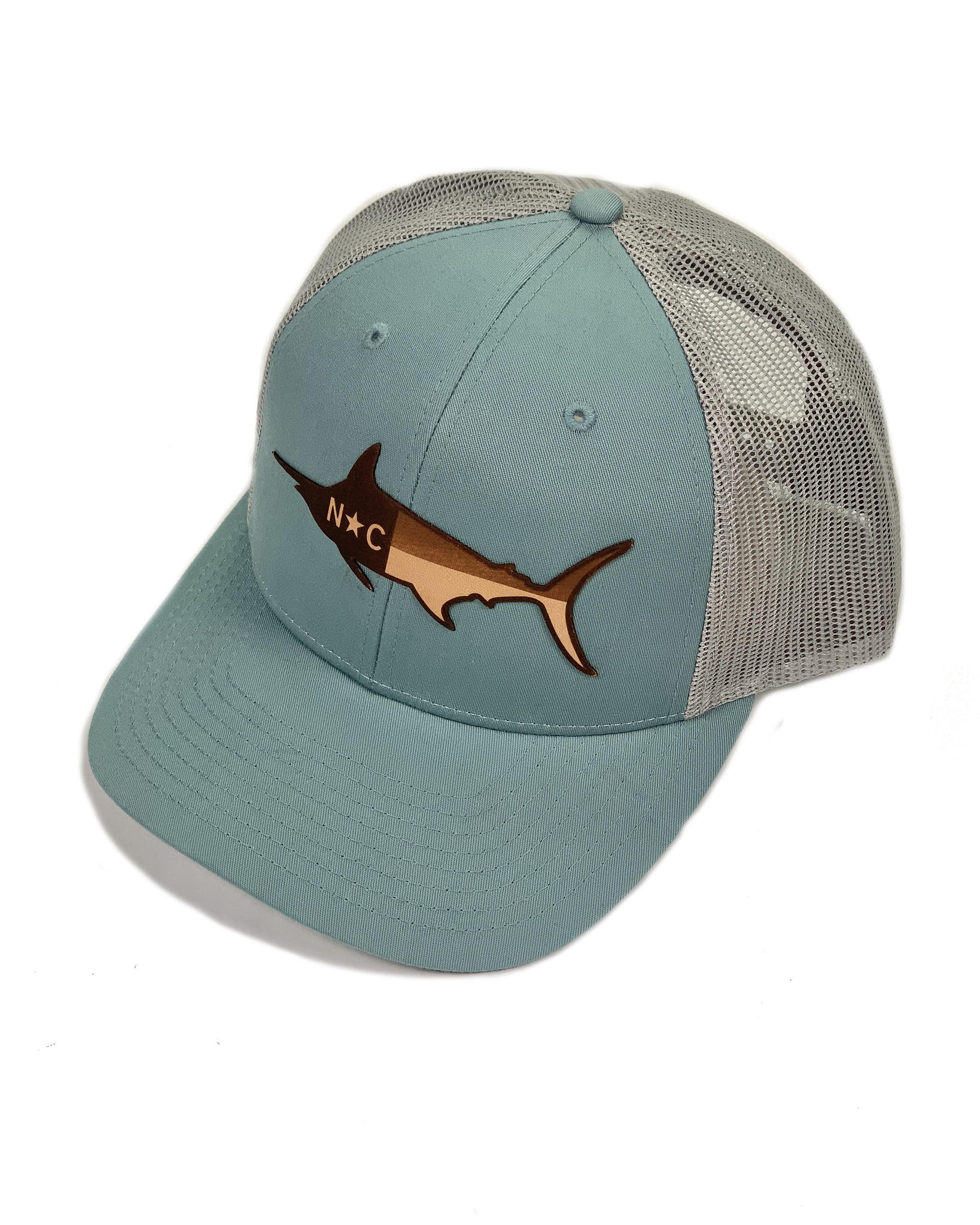 Ale Whales/Lost Wondo Smoke Blue NC Marlin Richardson Hat