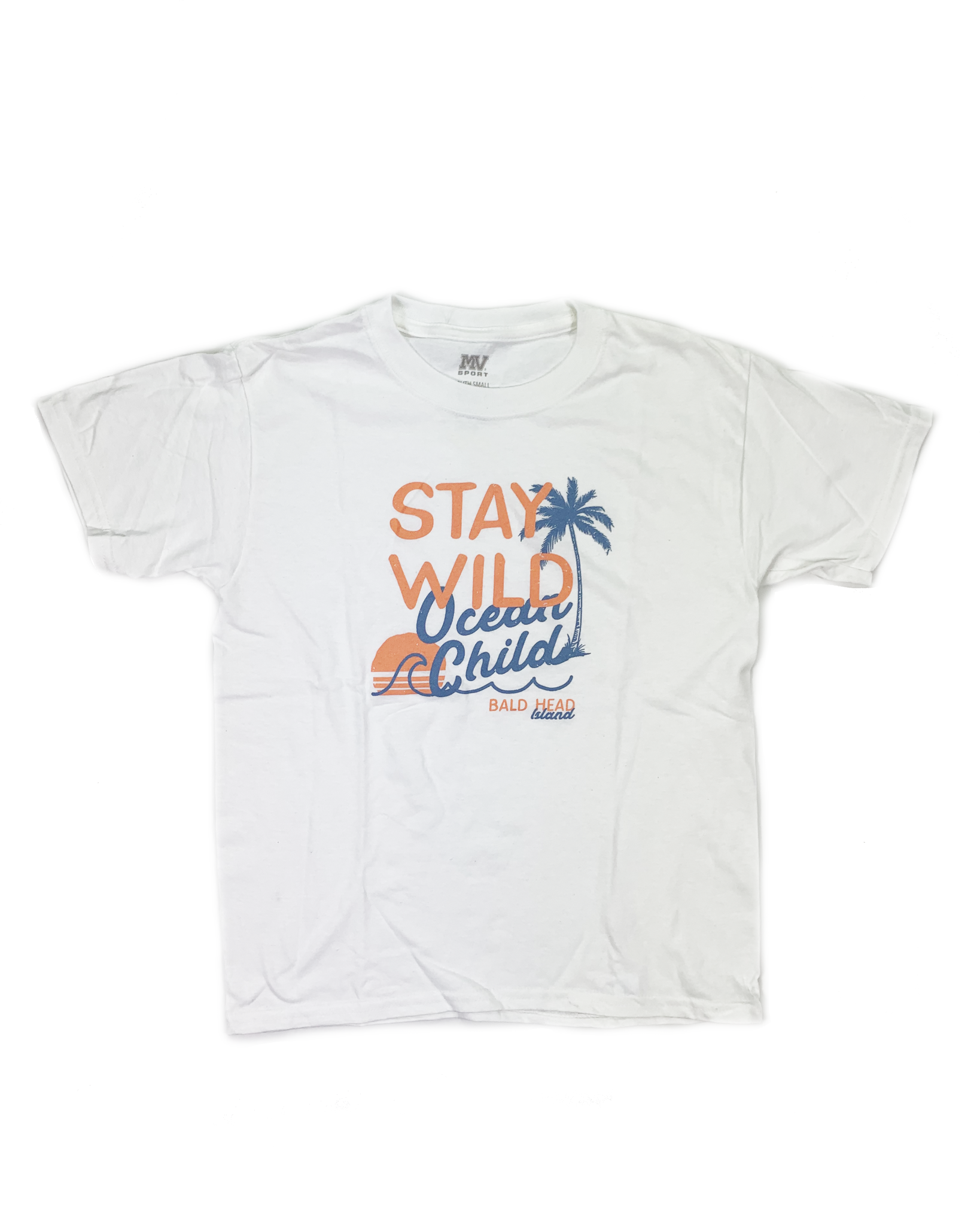 MV Sport BHI Stay wild Child Tee