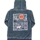 Buddy By The Sea Pacific Wave Hooded Zip Up