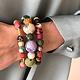 World Finds Kantha Cylinder Bracelet