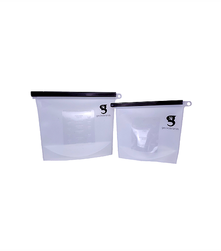 Geckobrands Waterproof Silicone Pouch Set