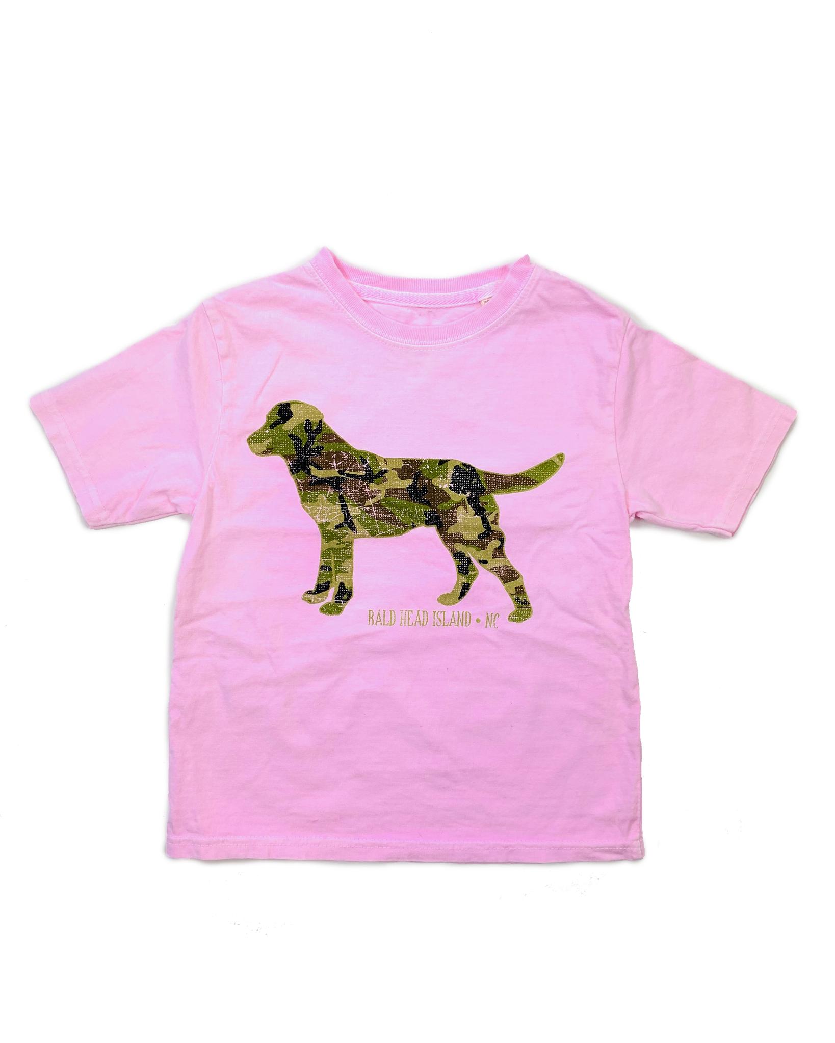 Lake Shirts Camo Kennel Club Youth