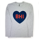 Next Level BHI Heart L/S Tee