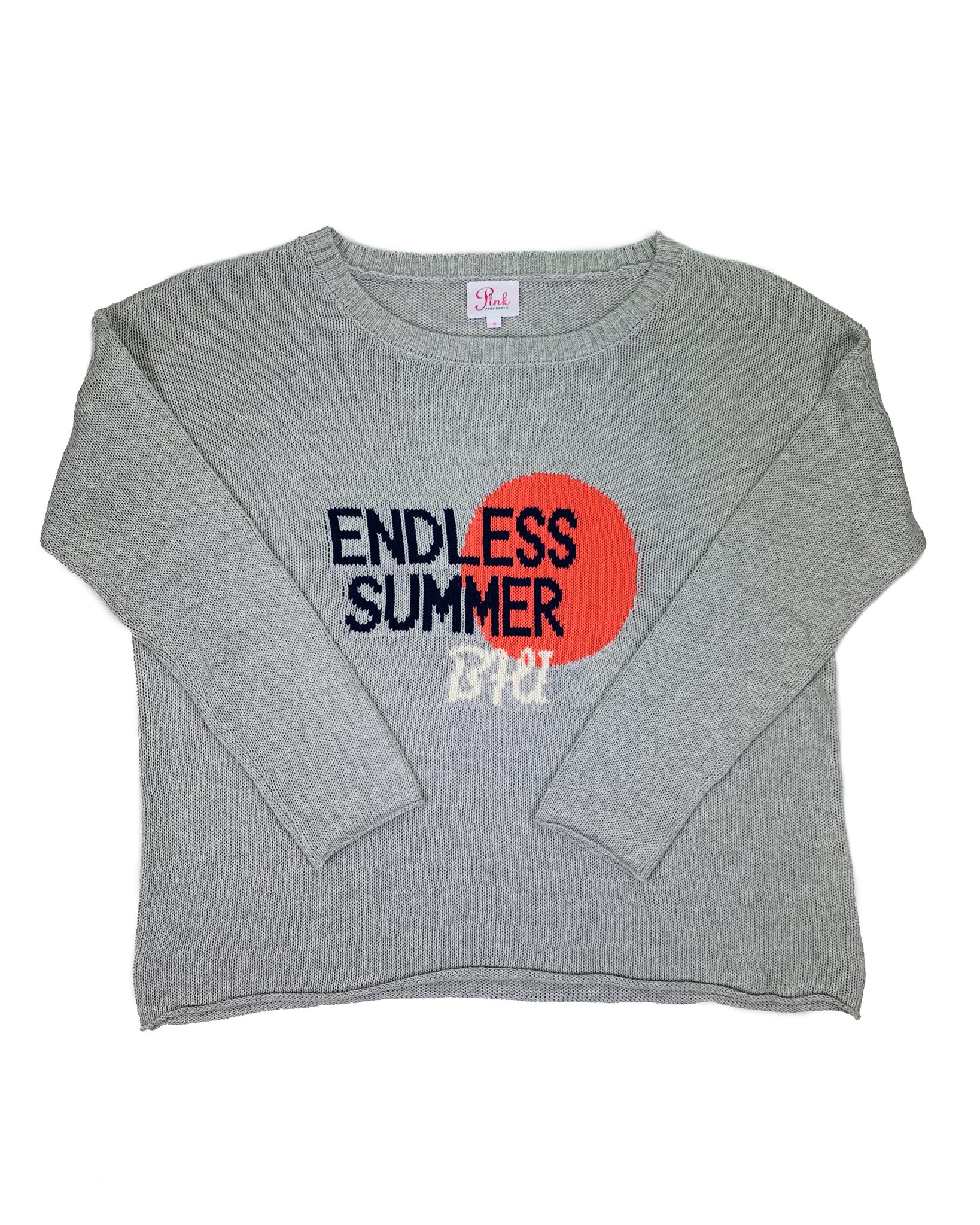 Pink Pineapple Endless Summer BHI Knit Sweater