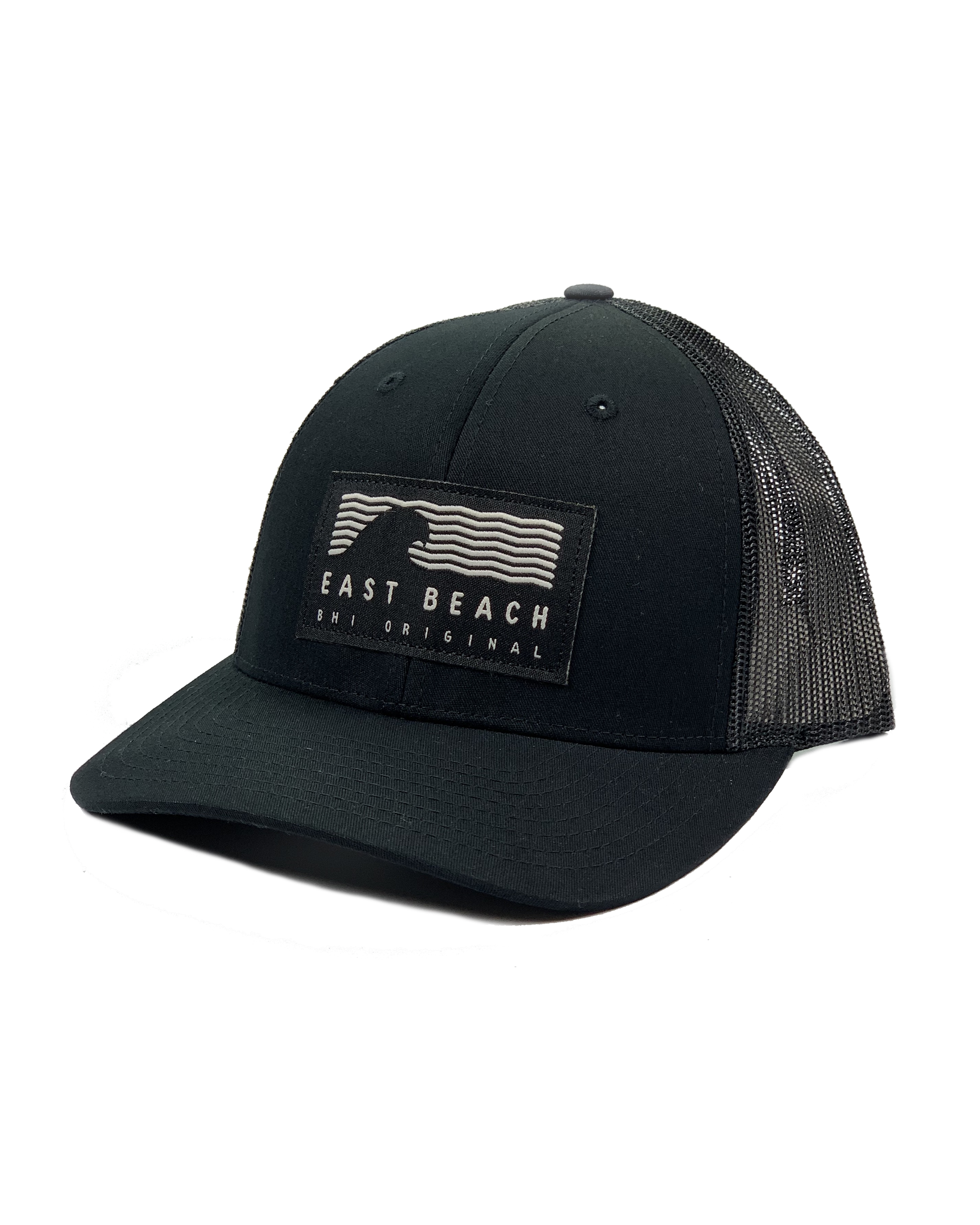 Richardson East Beach Original Woven Label Trucker Hat