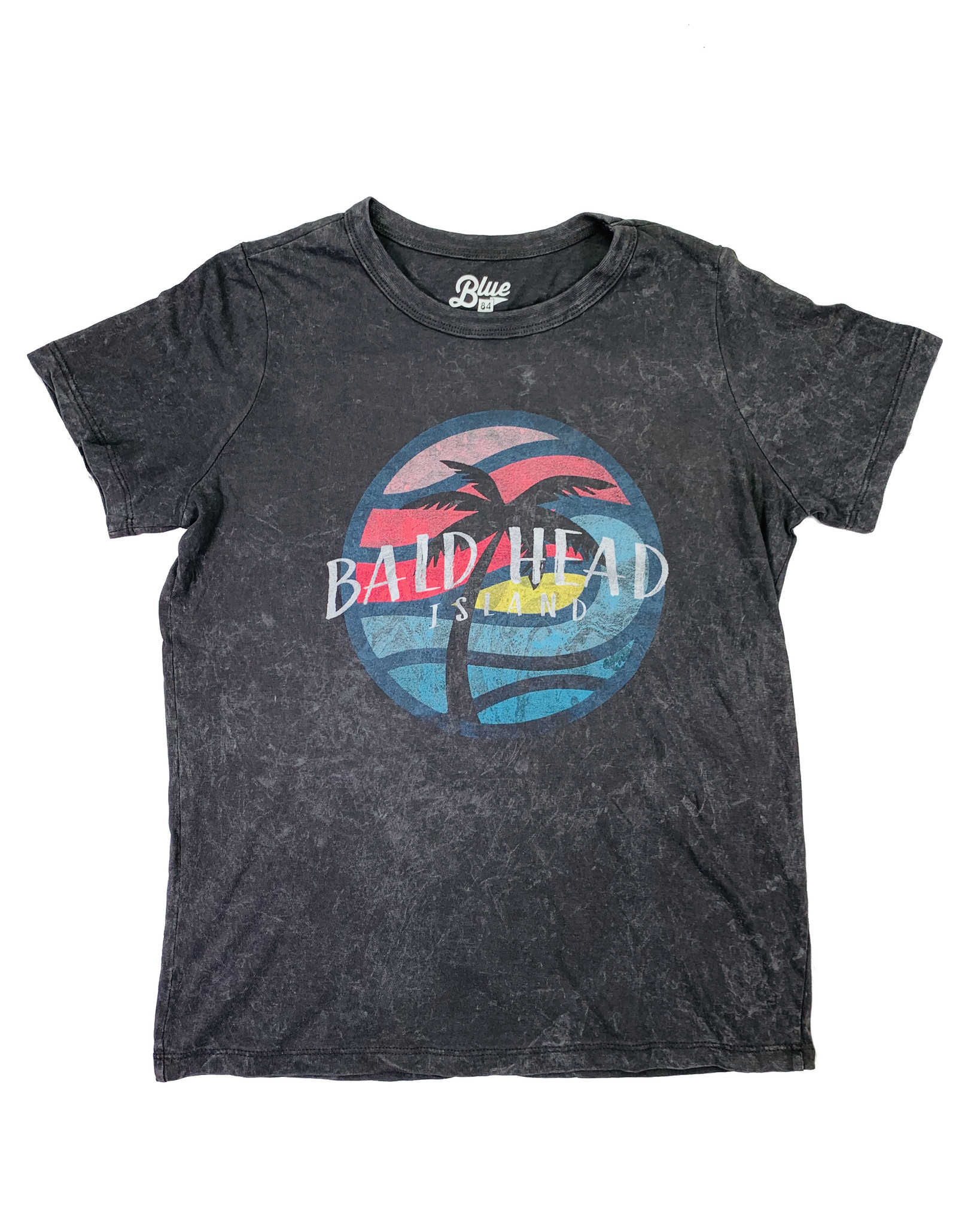 Blue 84 BHI Ballard Palm Mineral Wash Tee