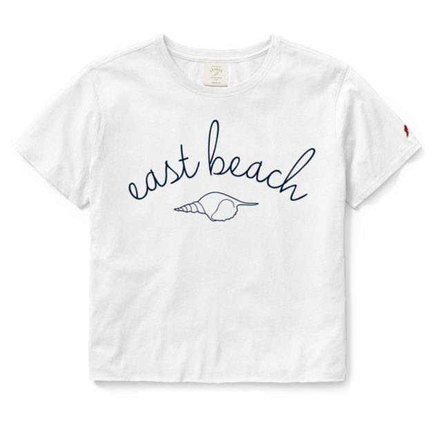 League East Beach Casual Crop Top