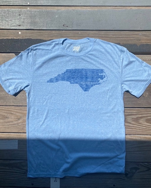 Lake Shirts BHI NC True State Tee
