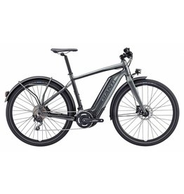 Giant 2018 Giant Quick-E+ 28MPH S5 M Charcoal Fighter Grey