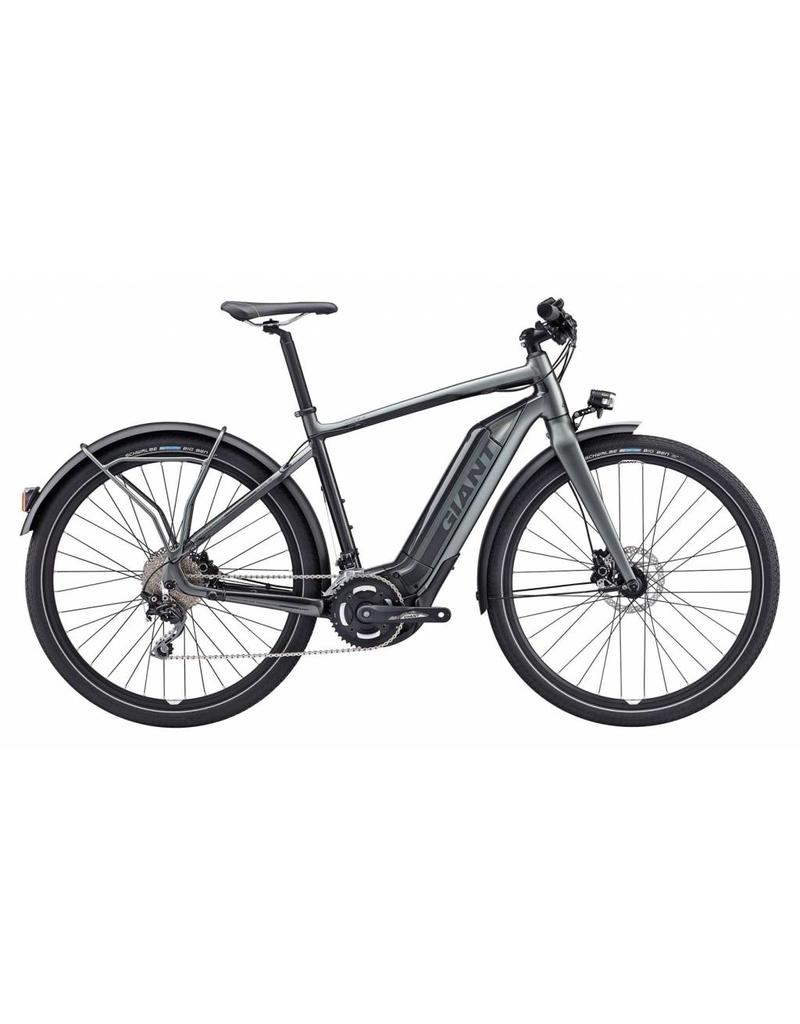 dd4c1ec69301c0 Giant Quick-E+ 28MPH S5 M Charcoal Fighter Grey - Advance Cyclery