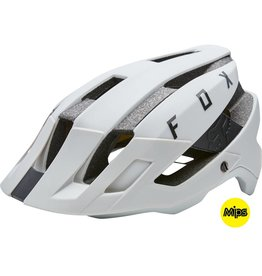Fox Racing Fox Racing Flux MIPS Helmet: Cloud Gray SM/MD