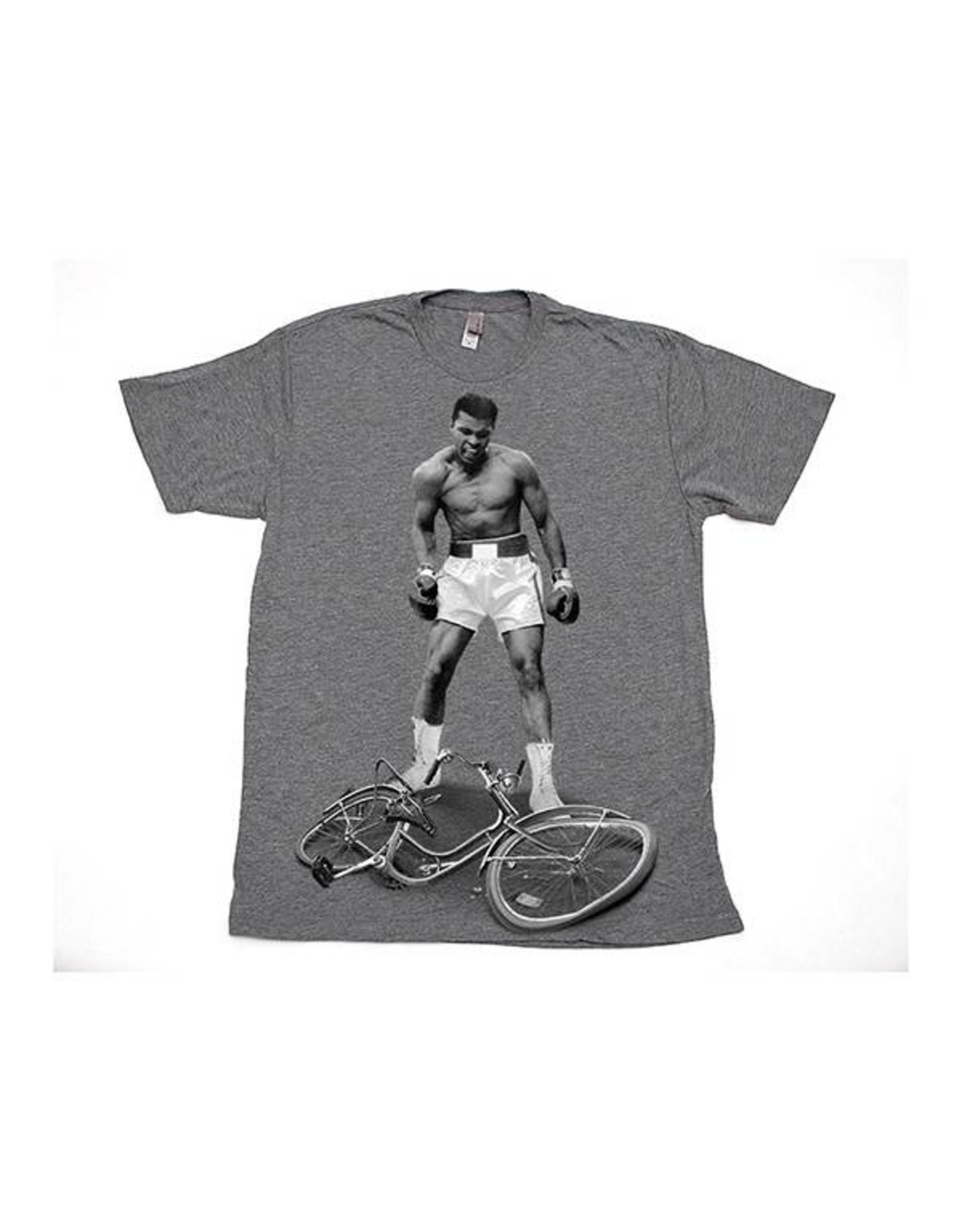 "ClockWork Gears ClockWork Gear ""Wipe Out"" T-Shirt (Light Grey, Large)"