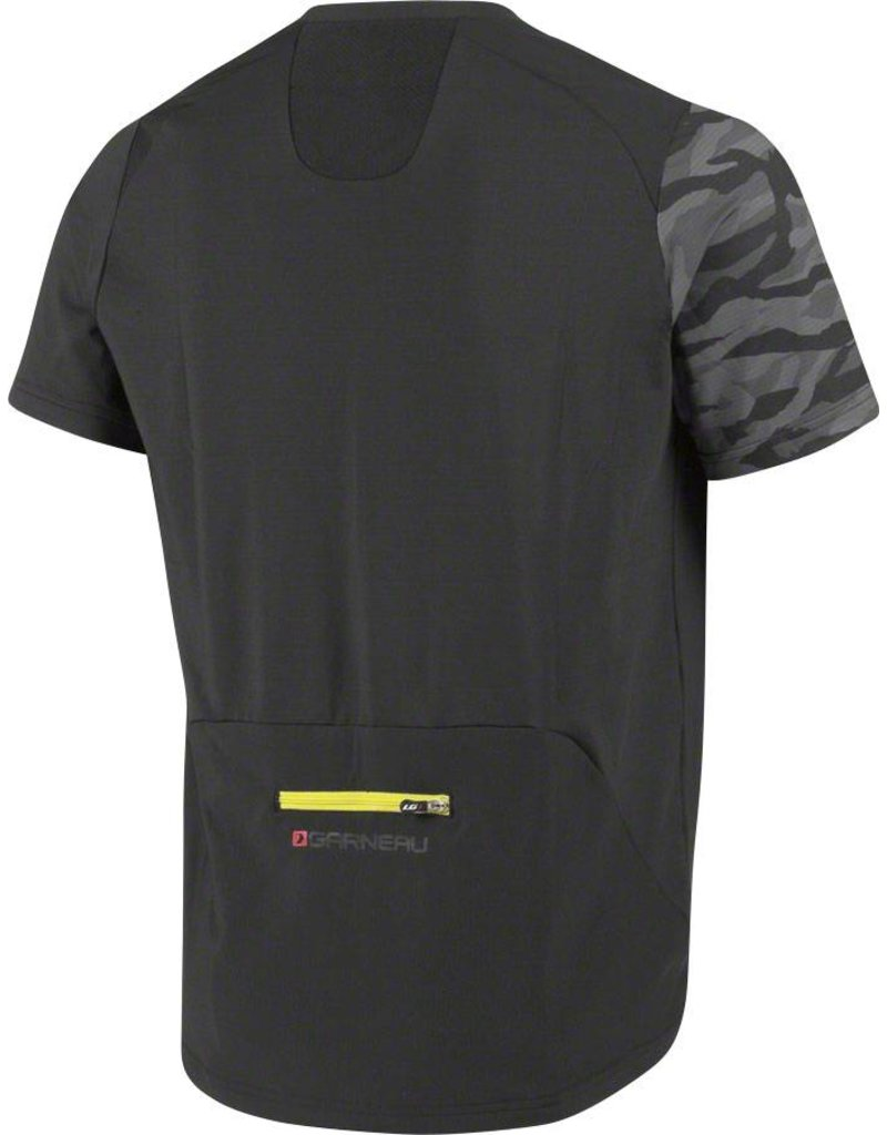 Louis Garneau Louis Garneau Andes MTB Short Sleeve T-Shirt: Black/Gray MD