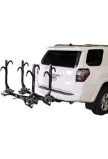 "SARIS Saris SuperClamp EX Hitch Rack: 4 Bike, 2"" Receiver, Black"