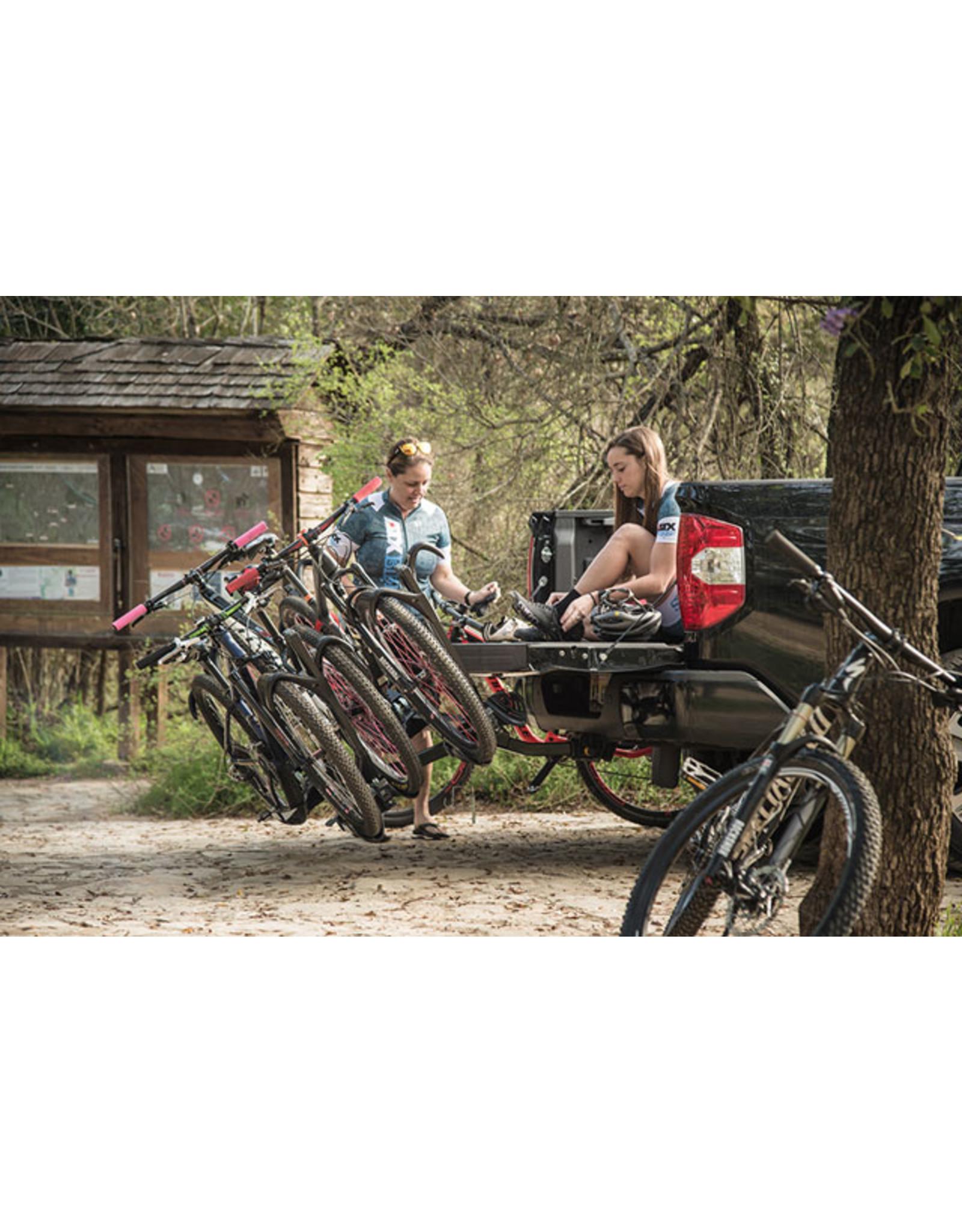 "SARIS Saris SuperClamp EX Hitch Rack: 4 Bike, 2"" Receiver, Black"