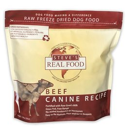 Steves Real Food Steve's Real Food Freeze Dried Food for Dogs 20oz